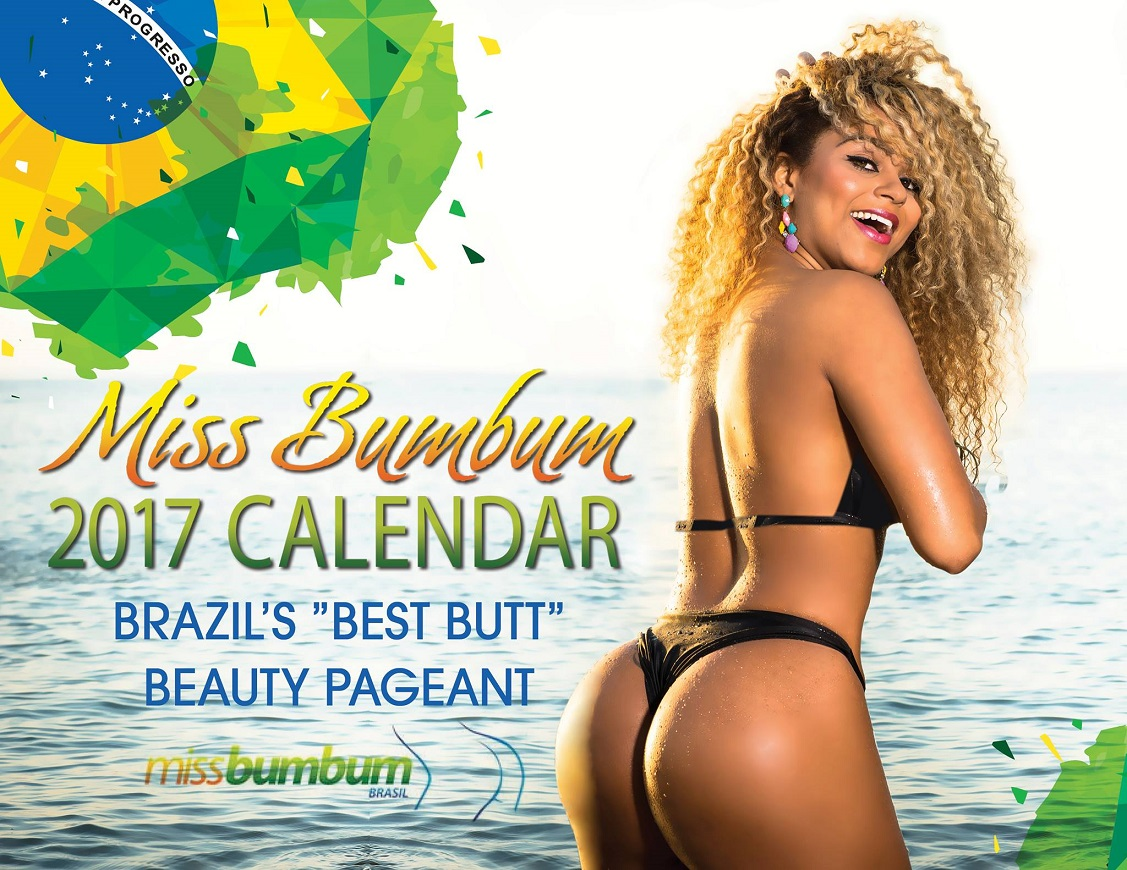 Miss Bumbum 2017 Photobooklet - Brazils 'Best Butt' Beauty Pagent